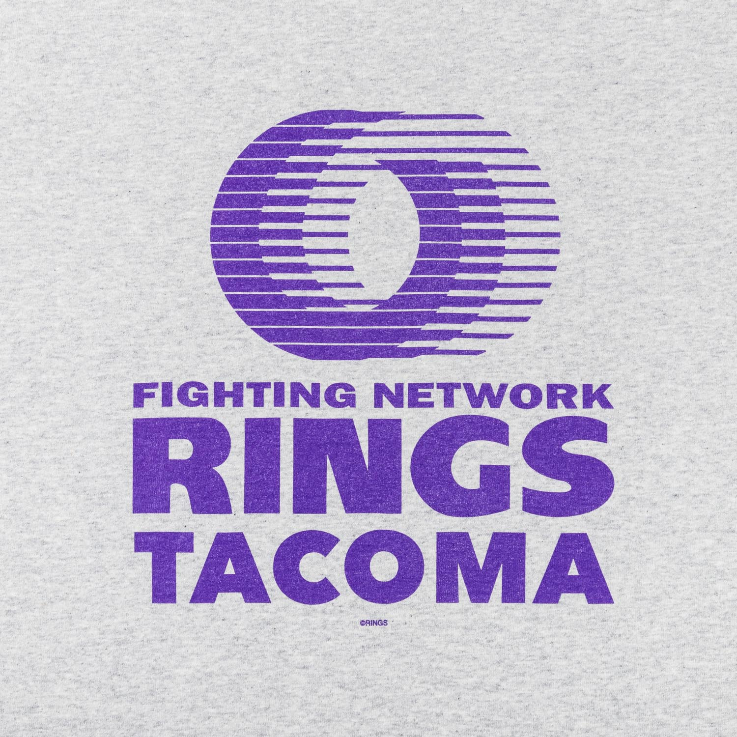 RINGS TACOMA Tee re-designed by Jerry UKAI (Reissue 2021)