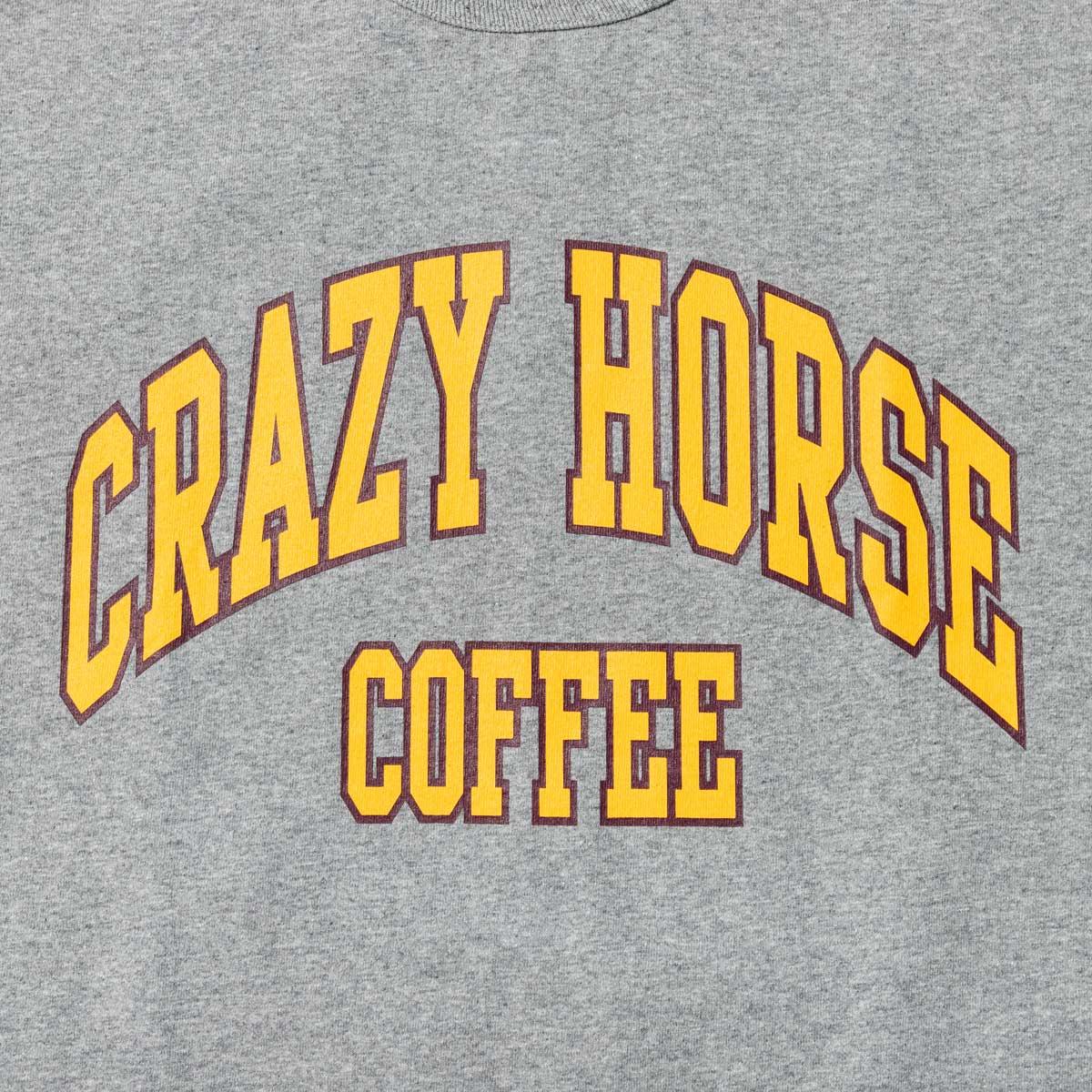 CRAZY HORSE COFFEE TEE designed by Shuntaro Watanabe