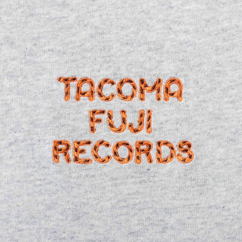TACOMA FUJI ZEBRA LOGO embroidery Tee designed by Jerry UKAI