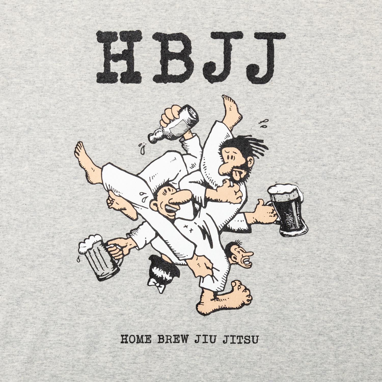 HBJJ aka HOME BREW JIU JITSU (LS) designed by Jerry UKAI